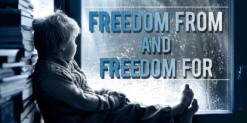 FREEDOM FROM AND FREEDOM FOR – St.Pius X Province